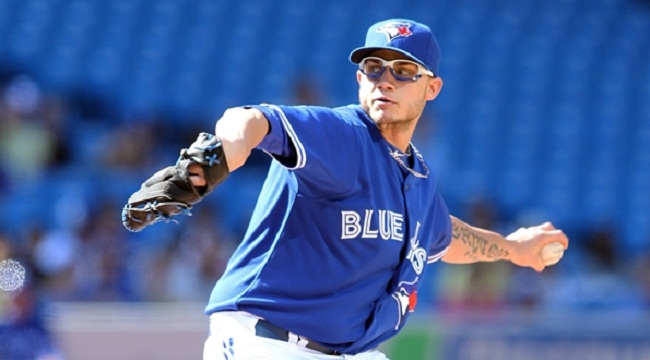Brett Cecil has been simply dominant this season for the Blue Jays
