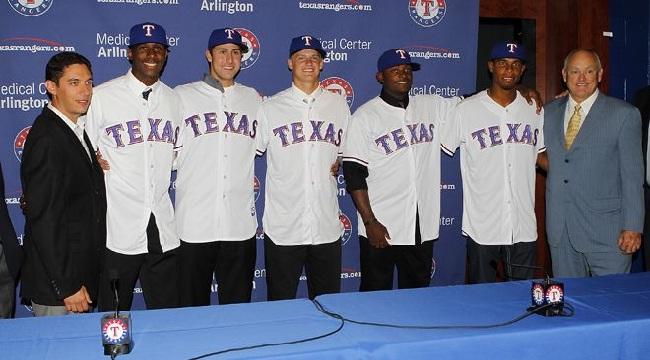 Texas Rangers MLB Draft