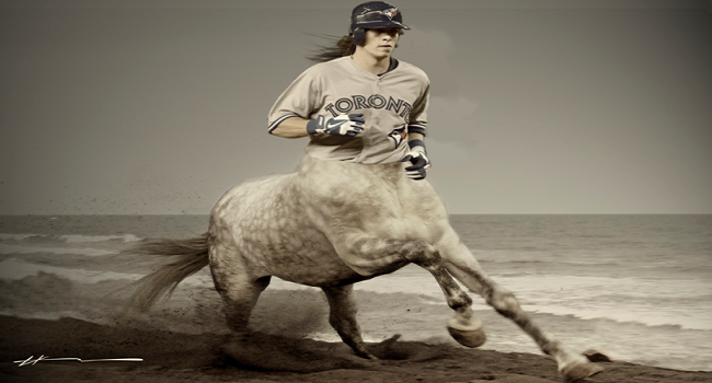 Toronto Blue Jays' Colby Rasmus Is A Wild Horse