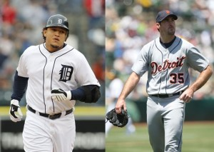 Miggy and J.V. Sporting the 'D'