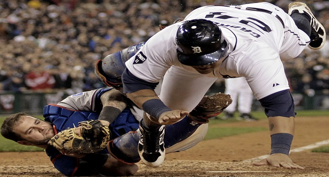Home Plate Colision
