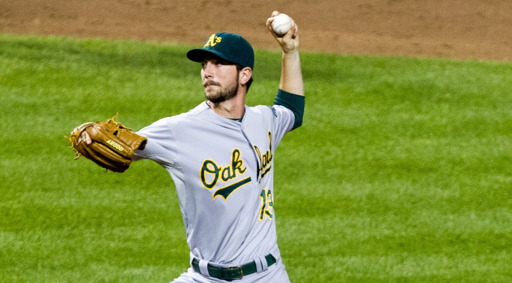 Left-handed reliever Jerry Blevins is heading from Oakland to the Washington Nationals after yet another trade by the busy A's.