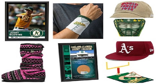 "To say the least, there's a wide array of odd items on sale at the A's Web shop that might not   scream, ""Merry Christmas"" for Oakland fans."