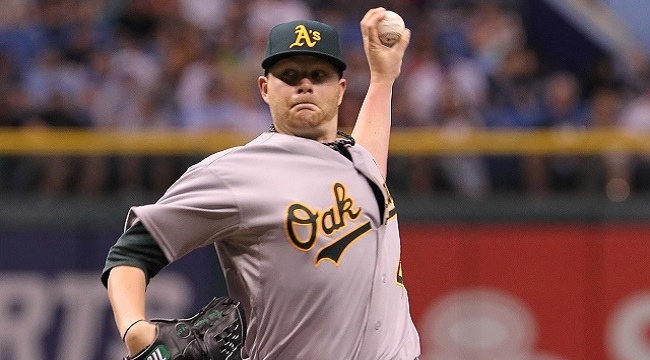 All the Brett Anderson trade rumors finally paid off with a deal that sent the starting pitcher from the A's to the Rockies in exchange for two pitching prospects.