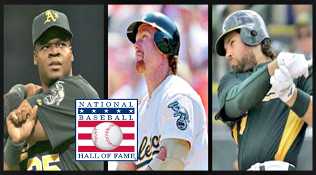 Frank Thomas, Mark McGwire and Mike Piazza all passed through Oakland at some point in their powerful careers.