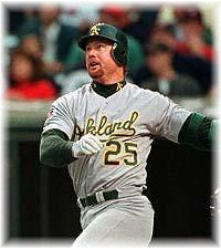 Mark McGwire didn't want to talk about the past when he sat before Congress and BBWAA voters don't seem interested in honoring his past achievements as a player anytime soon.