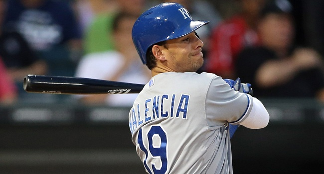 Danny Valencia and his career .333 batting average against left handers is an excellent pickup by the Blue Jays