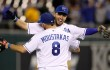 Eric Hosmer Mike Moustakas