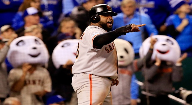 Pablo Sandoval. Photo Credit: Jamie Squire/Getty Images.