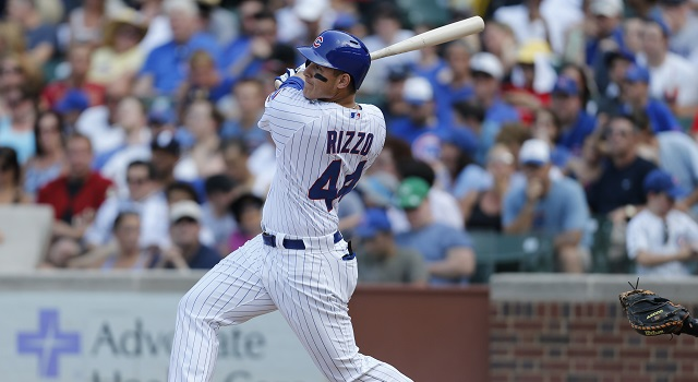 Anthony Rizzo was a monster for the Cubs in 2014.