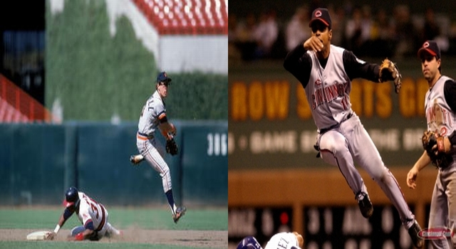 Alan Trammell and Barry Larkin