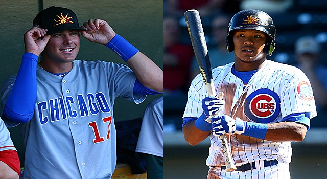 Kris Bryant and Addison Russell