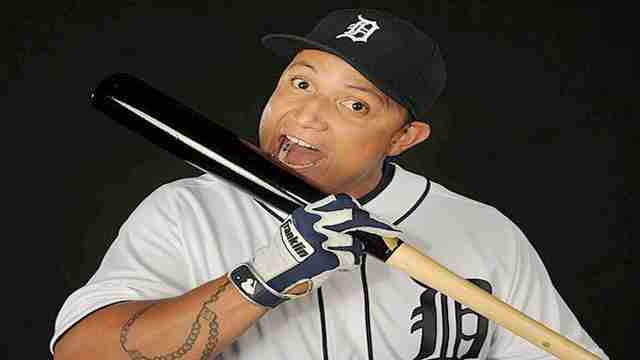 Miguel Cabrera. Getty Images