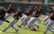 San Francisco Giants training camp