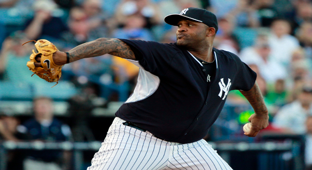 New York Yankees starting pitcher CC Sabathia
