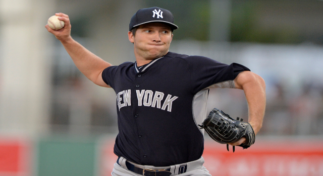 New York Yankees pitcher Adam Warren