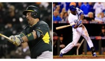 Billy Butler & Lorenzo Cain. Photo Credit: Getty Images.