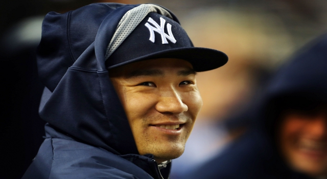 New York Yankees starting pitcher Masahiro Tanaka