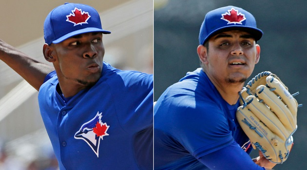 Castro and Osuna, respectively, will start the year in Toronto's bullpen.