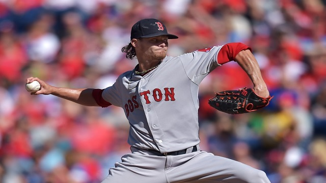 Clay Buchholz throws seven shutout innings as the Red Sox win on Opening Day.