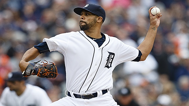 David Price was one out away from a complete game shutout against the Twins.