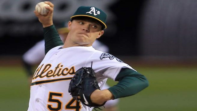 Sonny Gray takes a no-hitter into the eighth inning.