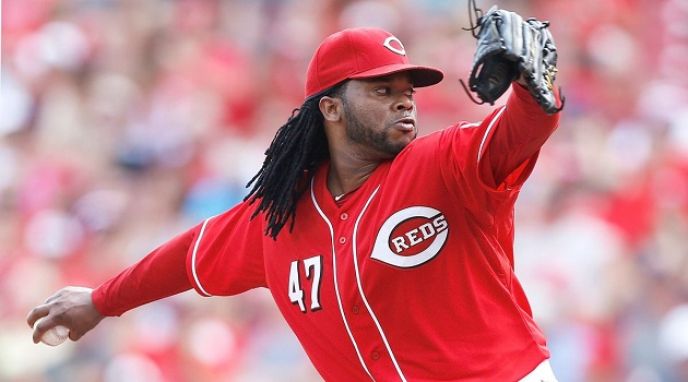 Where will Johnny Cueto be pitching come the trade deadline?