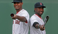 Jackie Bradley Jr. (right) and Xander Bogaerts (left) are two of the Red Sox cornerstone players heading into 2016.