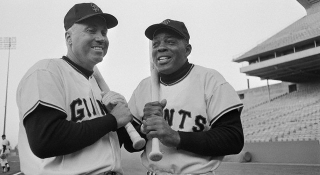 duke-snider-willie-mays-in-1964