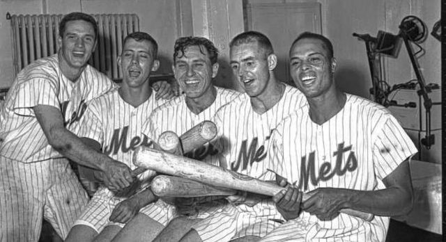 Original Mets (l. to r.) <a rel=