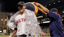 Rick Porcello Ice Bath