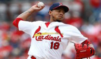 Carlos Martinez gets the ball in the NL Wild-Card game.