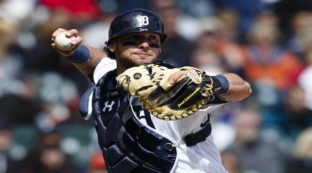 Jarrod Saltalamacchia will be the Blue Jays backup catcher.