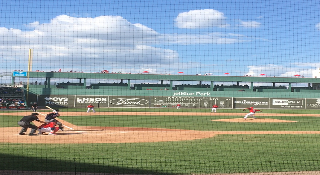 Team USA Exhibitions Vs Red Sox Before World Baseball Classic